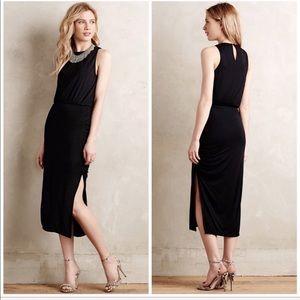 Anthropologie Maeve Nighttide Midi Dress